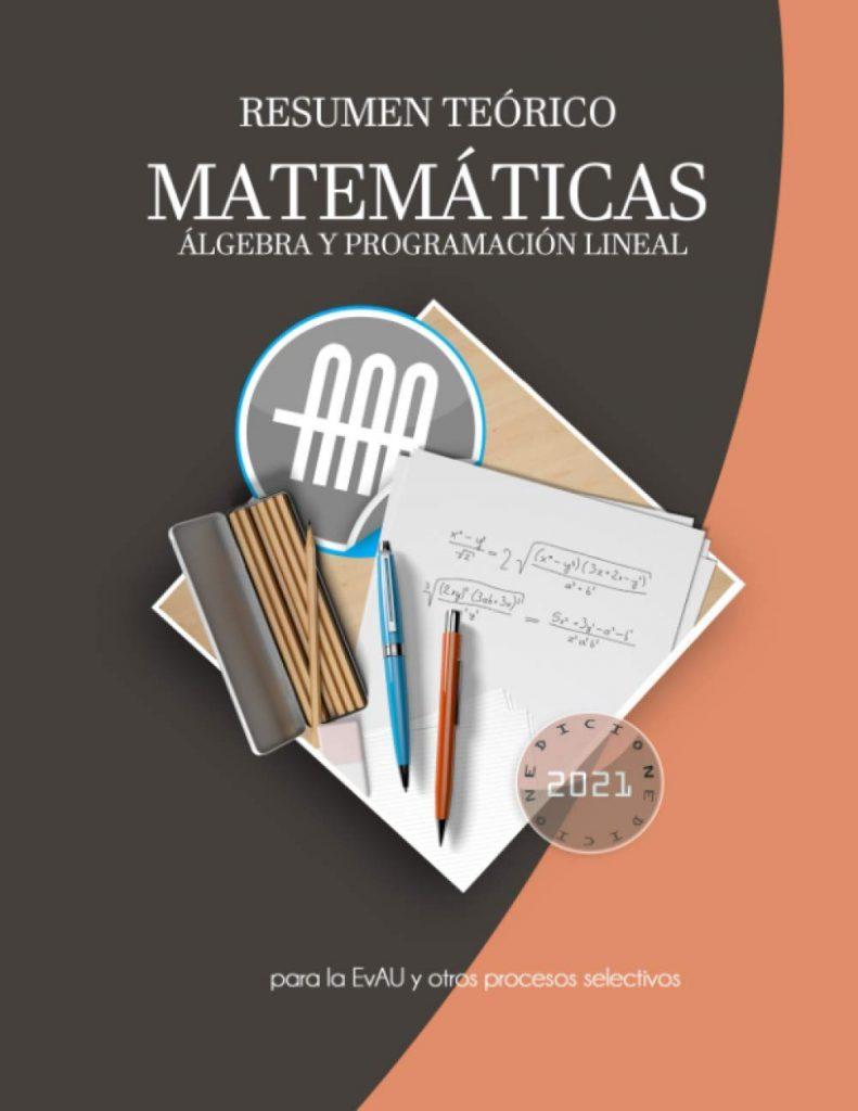 Resumen matemáticas EvAU Selectividad